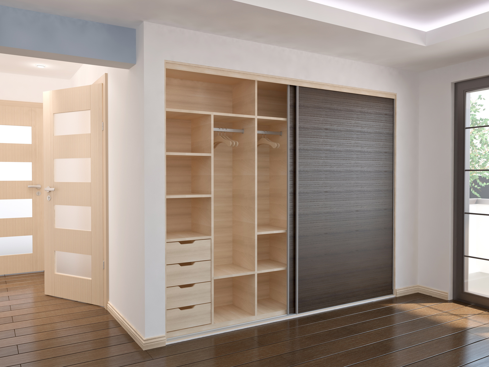 lightbox & Sliding Door Wardrobes | Fiximer Kitchens \u0026 Bedrooms Doncaster
