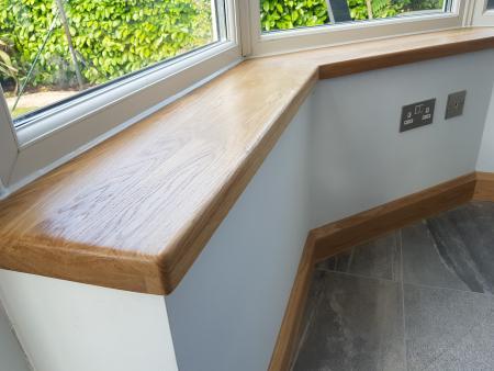 Solid Oak Window sills