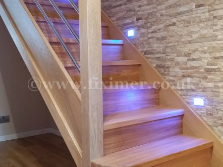 Solid Oak Staircase Yorkshire
