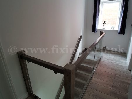 Bespoke wooden staircase