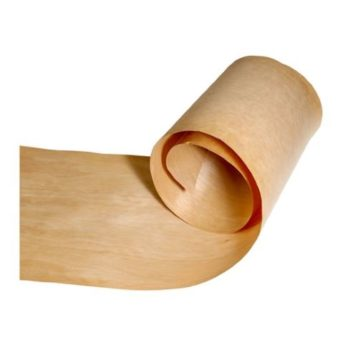 Constructional Glue Back Oak Veneer 250mm - sold per running metre