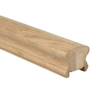 Oak Traditional Handrail with Groove