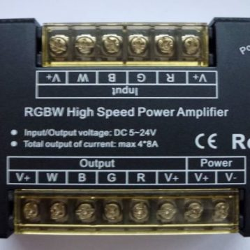Amplifier - RGBW LED strip