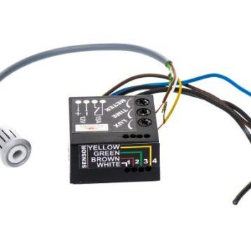 Motion sensor, light sensor in one