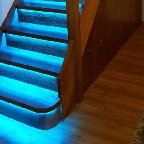 Smart LED controller for lighting stairs RGB(W) V5-20