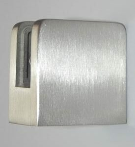 Brushed Nickel Glass Bracket