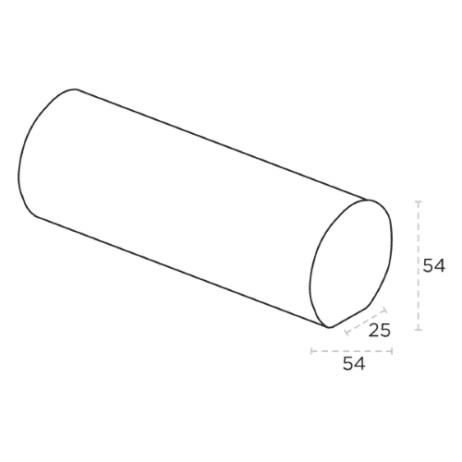 Round Mopstick Handrail